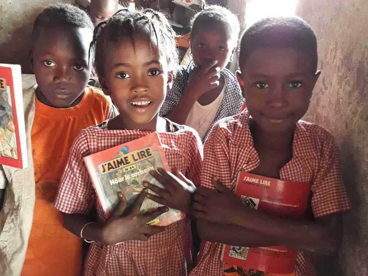 Espoir des écoliers guinéens Projets