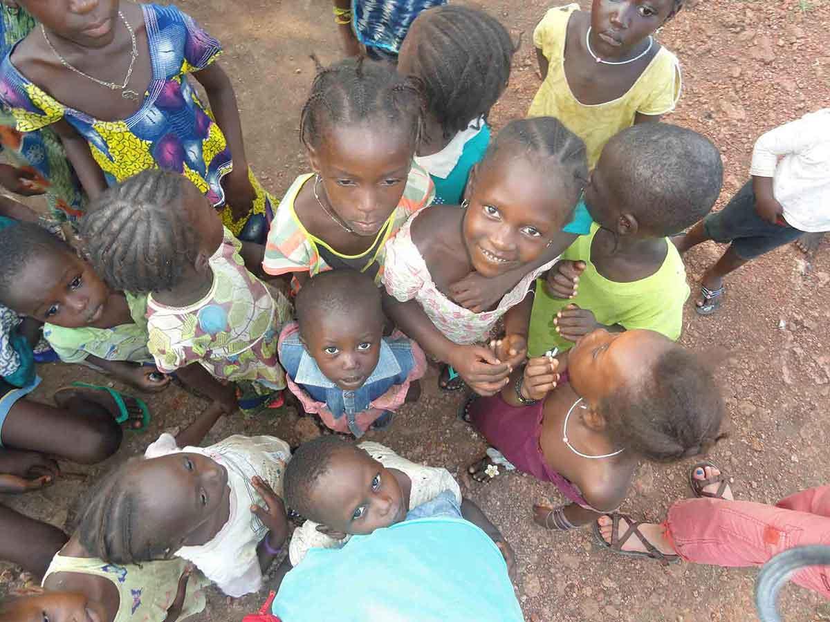 Espoir des écoliers Guinéens Photos de Guinée