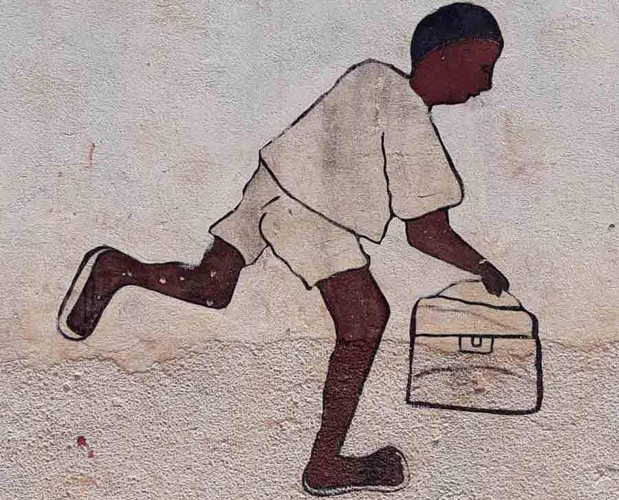 Espoir des écoliers guinéens faire un don