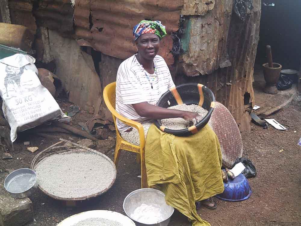 Scènes de vie en Guinée