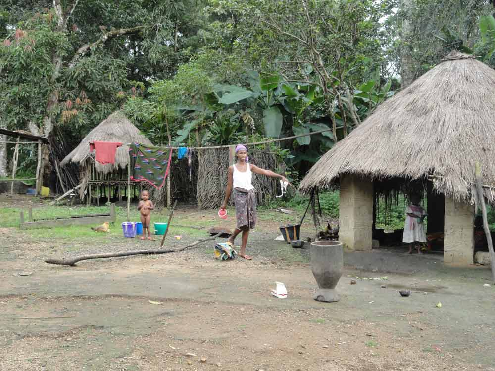 Scènes de vie en Guinée La toilette