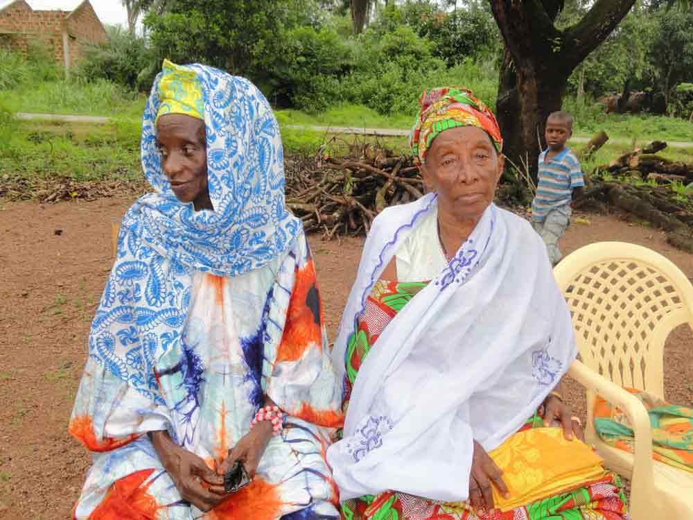 Tenues traditionnelles en Guinée